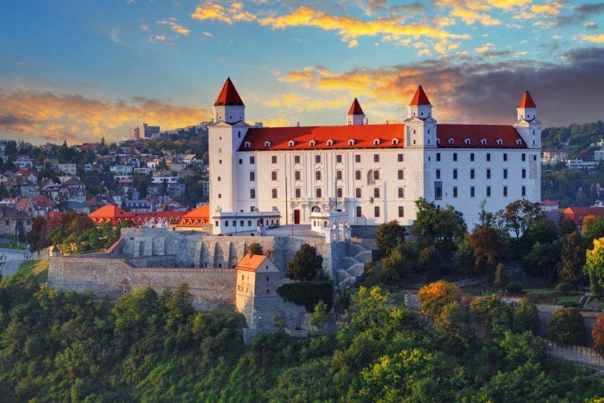 Bratislava slott Slovakia
