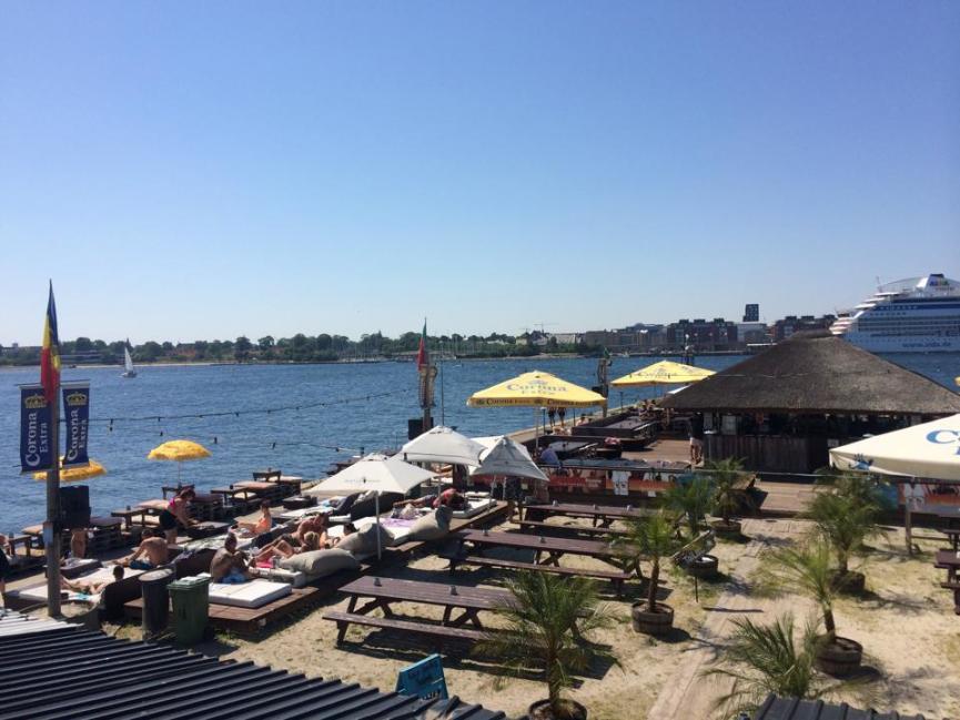 Sommer i København - havnen