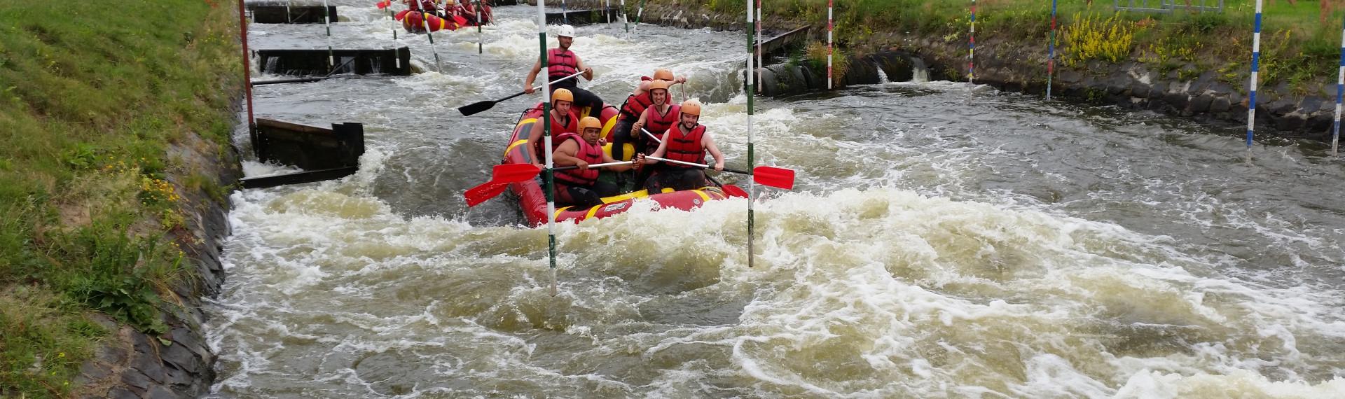 White Water Rafting Prag