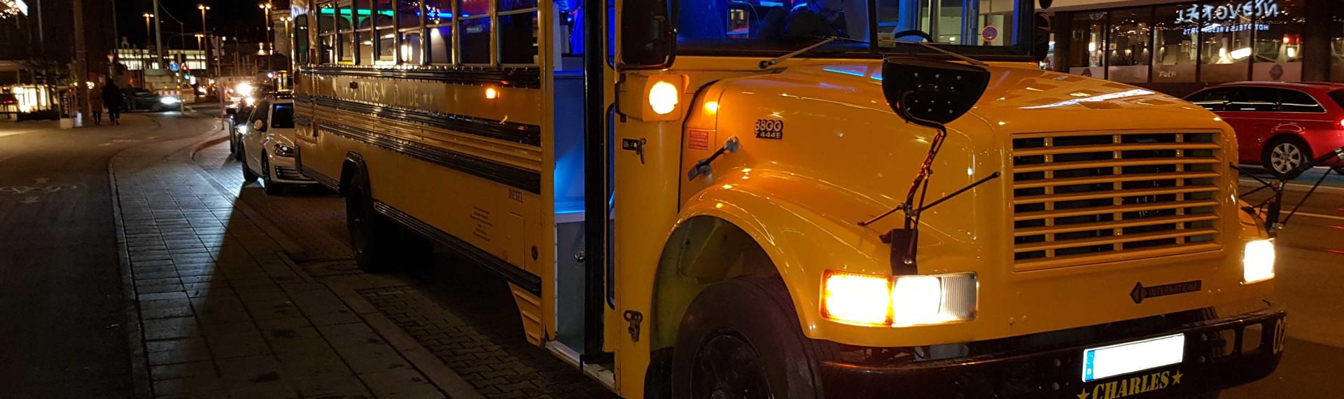 Partybus US Schoolbus Munich