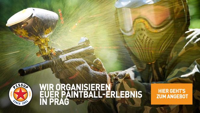 Wir organisieren euer Paintball Erlebnis in Prag
