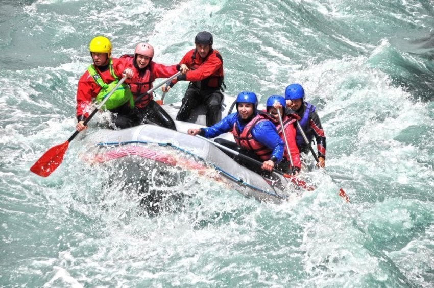 White-water rafting Pissup Stag Do