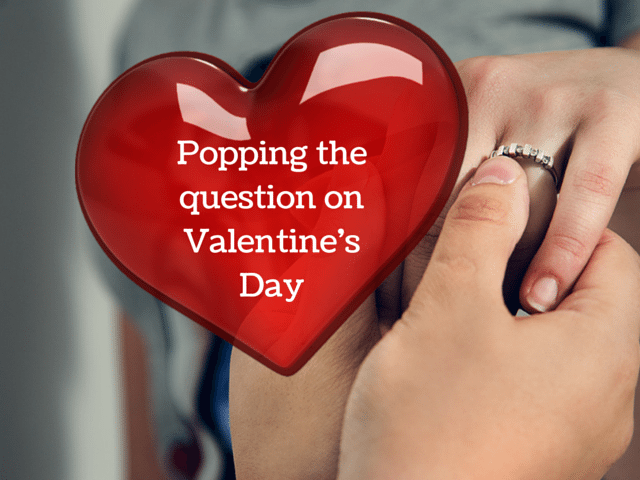 propose on valentine's day -pissup