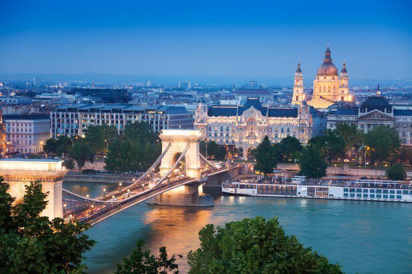 Les plus beaux coins de Budapest