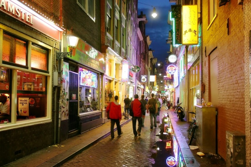 Amsterdams gater under helgen - Pissup Reiser