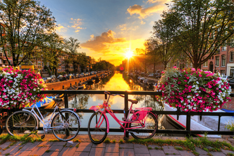 Polterabend i Amsterdam