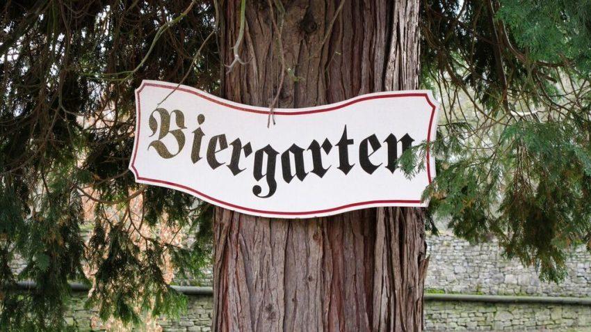 Beer garden Berlin