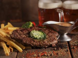 Un bon steak á Prague