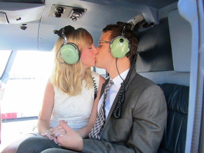 Married over Manhattan