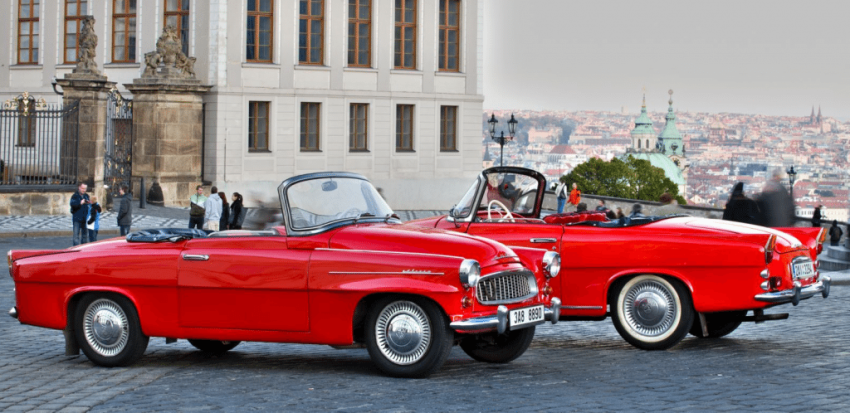 prague vintage car tour - pissup stag do