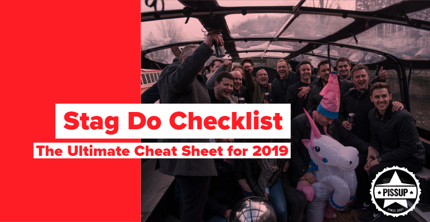 Stag Do Checklist: The Ultimate Cheat Sheet for 2019 - Pissup Tours