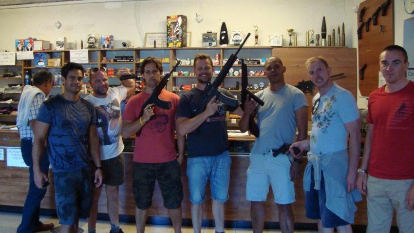 Cheap Stag Do shooting range