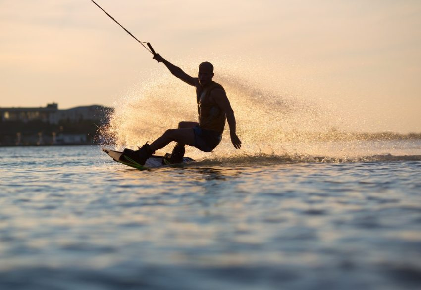 wakeboarding in barcelona - pissup