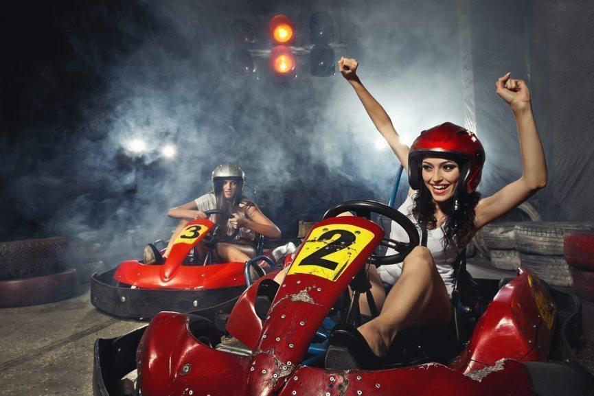 Karts et karting dans cette ville