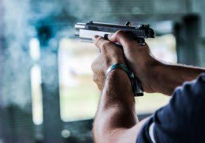 Shooting guns in Vilnius - Pissup Stag Do