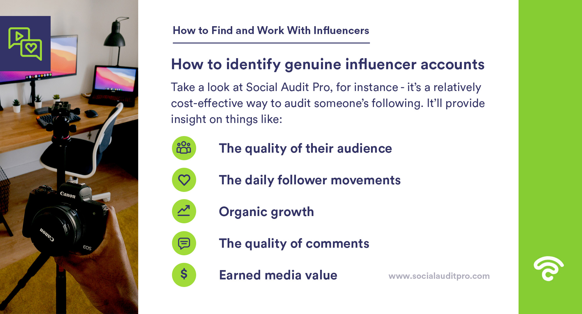 How to identify genuine influencer accounts