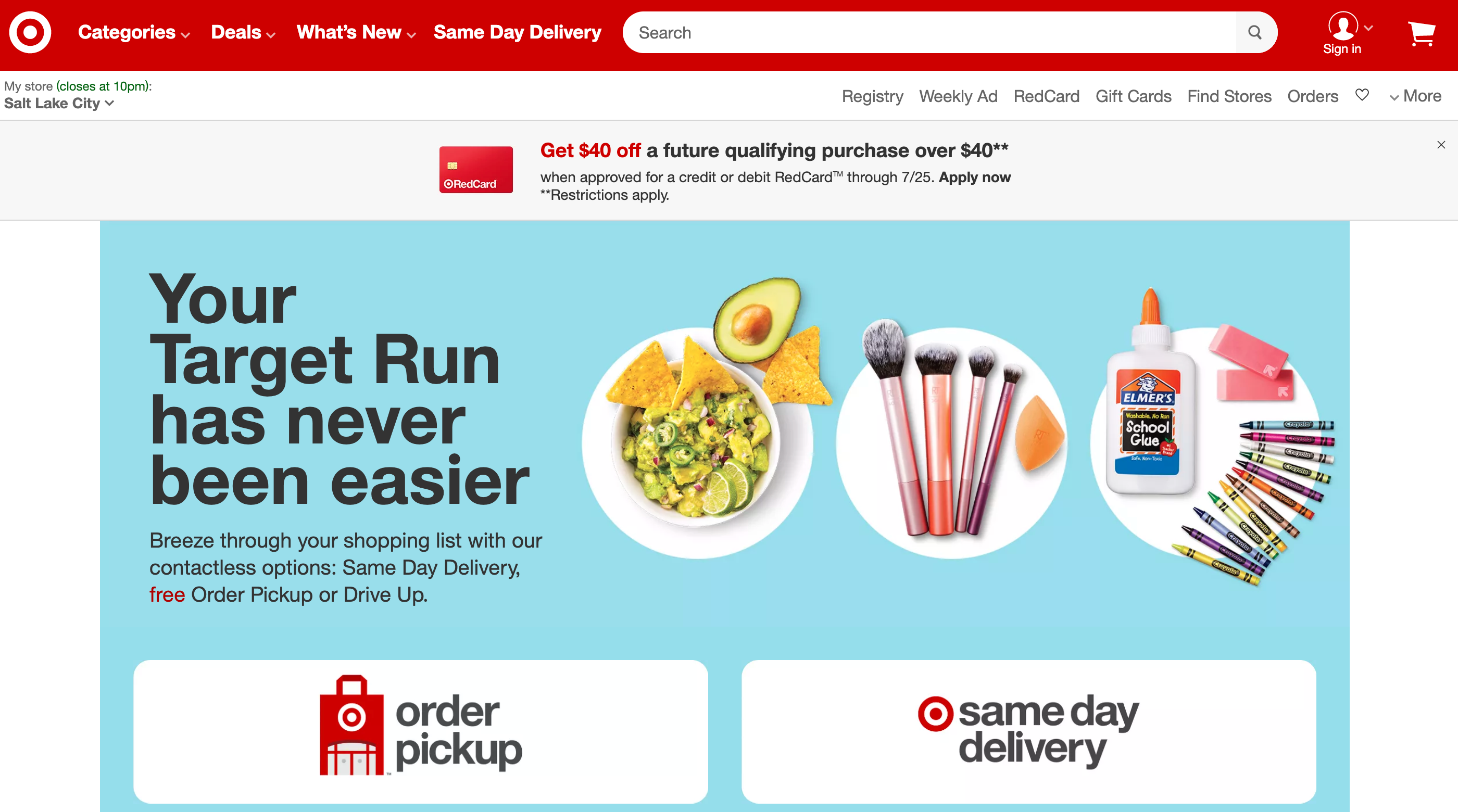 Target Brand Equity Online | Pattern
