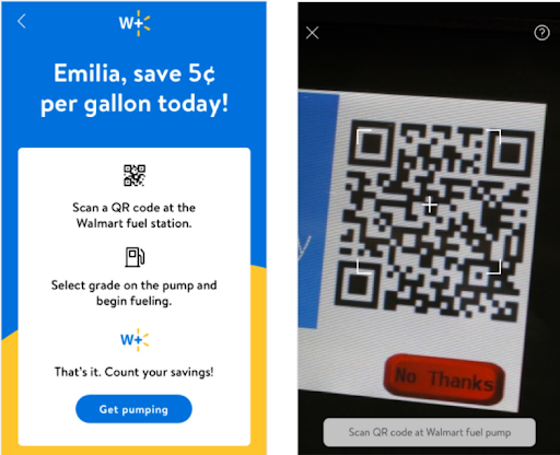 Walmart Plus Benefits for Consumers, QR Code Scanner | Pattern