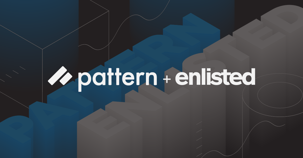 Pattern and Enlisted Design Press Release Image