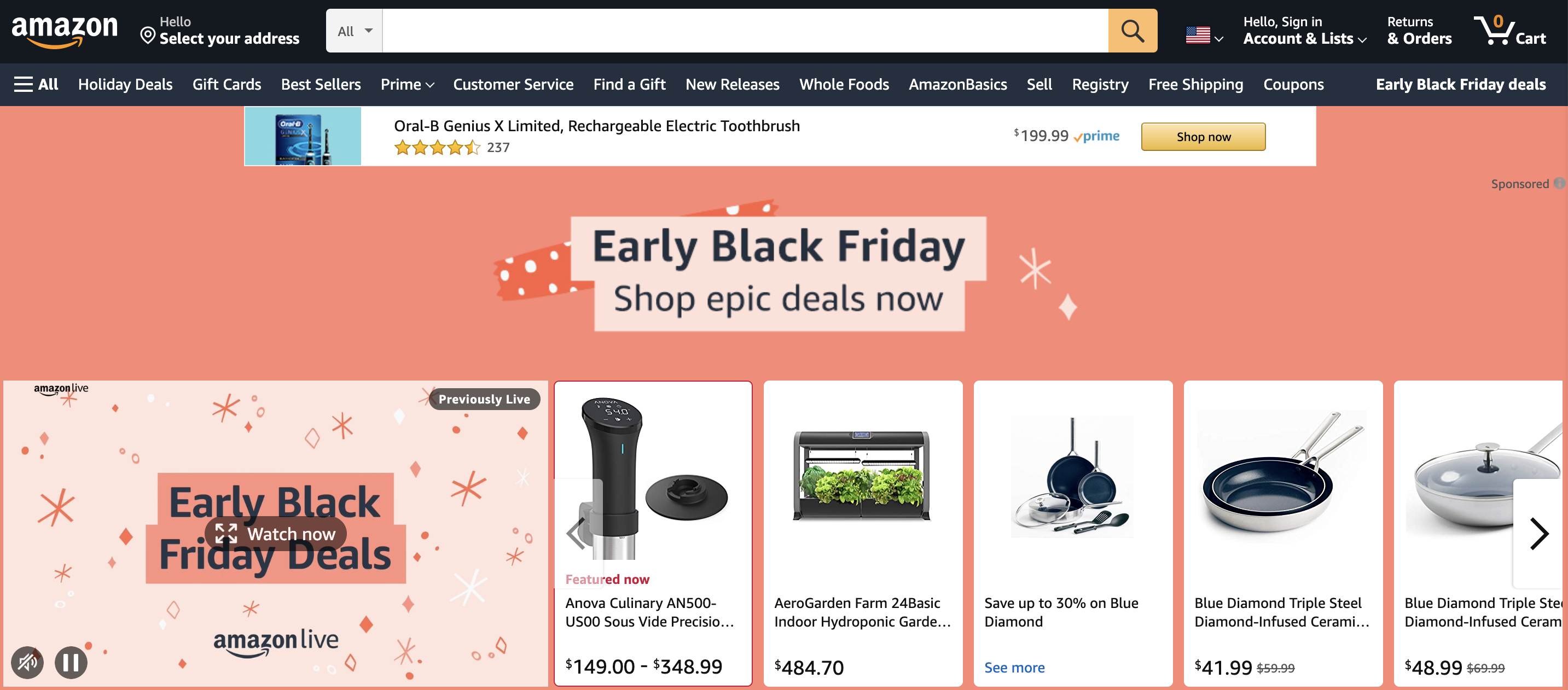 Amazon Holiday Deals and Ecommerce Strategy | Pattern