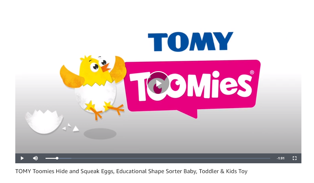 TOMY Video - Baby Category on Amazon - Pattern Blog