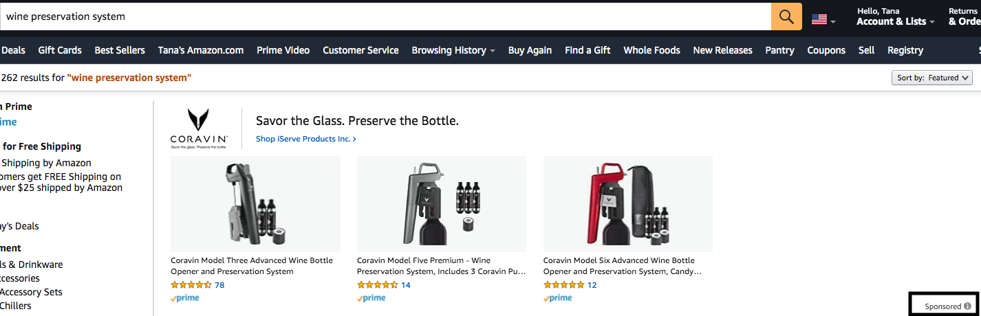 Sponsored Brand Ads on Amazon | Pattern
