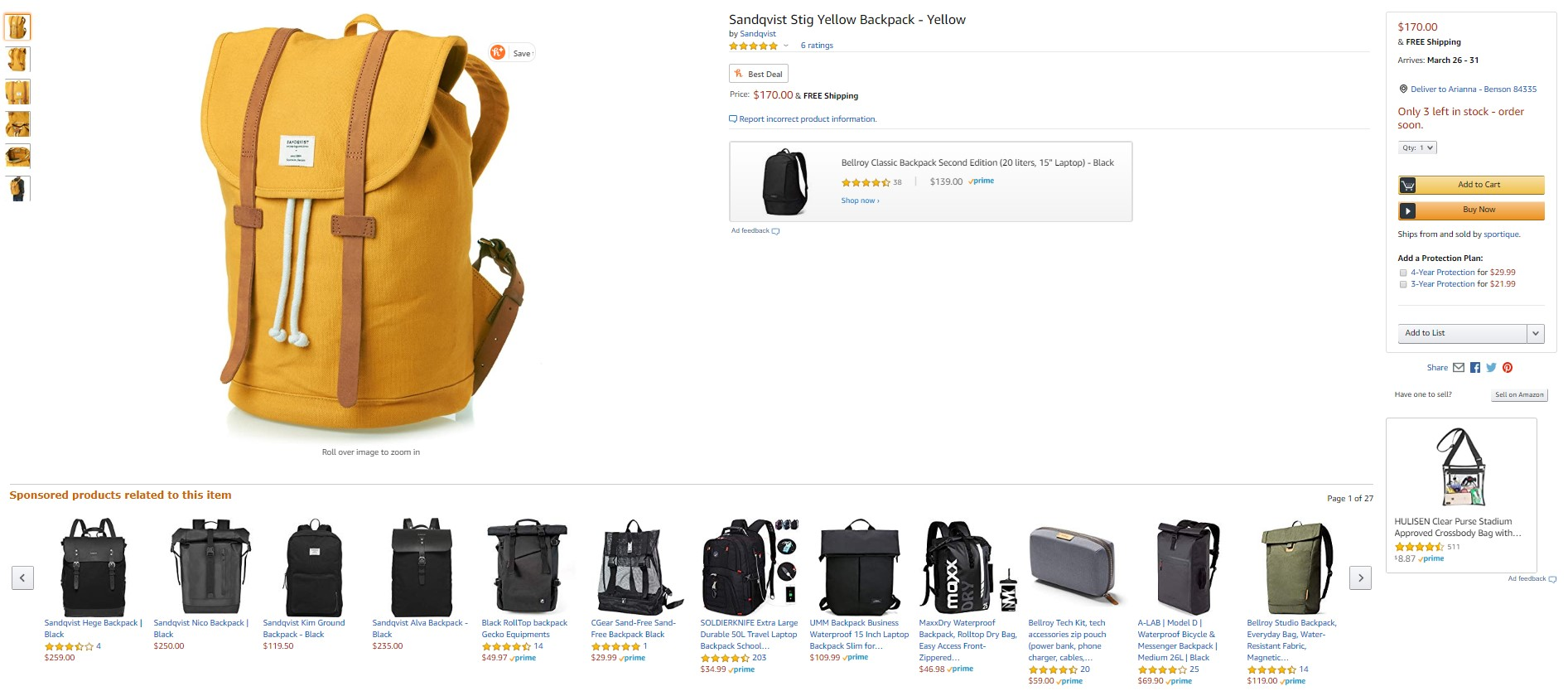 sponsored products on Amazon strategy