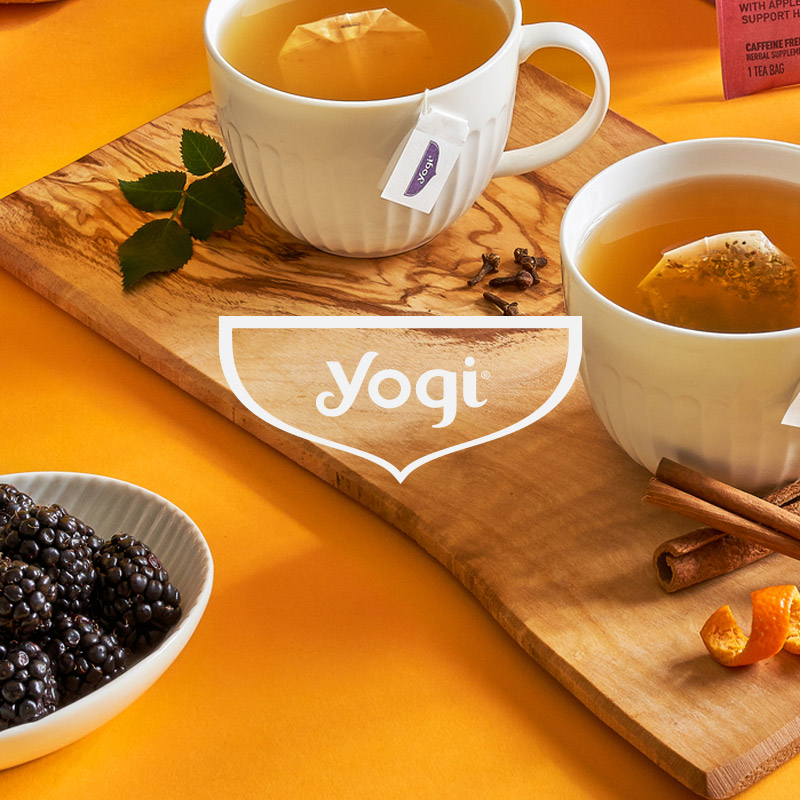 Yogi Tea ecommerce success story, Pattern