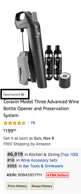 Sponsored Product Ads on Amazon | Pattern