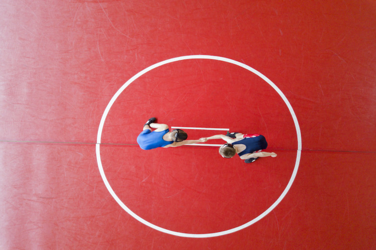 Youth Wrestling Match