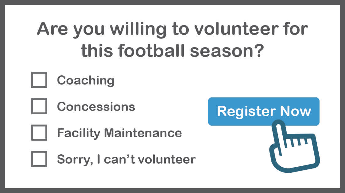 a youth football online registration form template