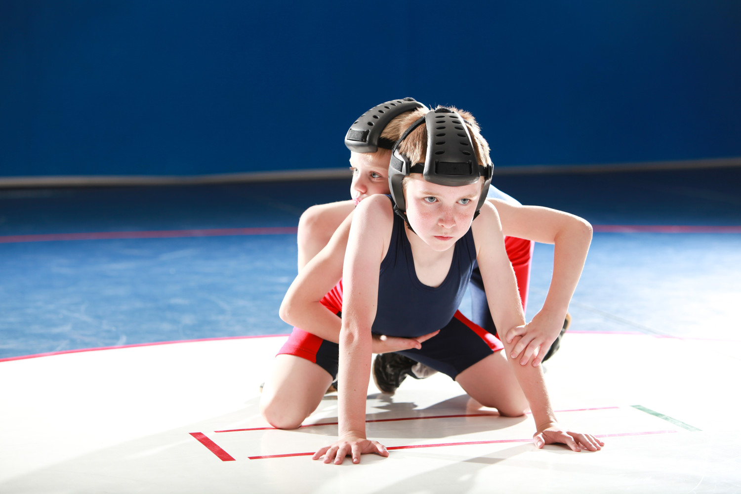 Youth Wrestling Top Position