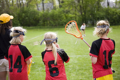 youth lacrosse players