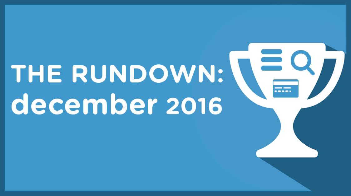 The Rundown: December 2016