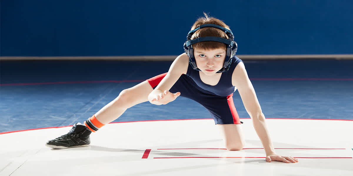 Youth Wrestler