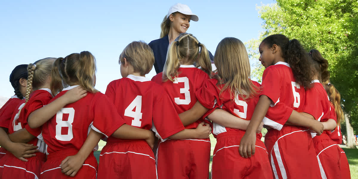 mothers coaching youth sports