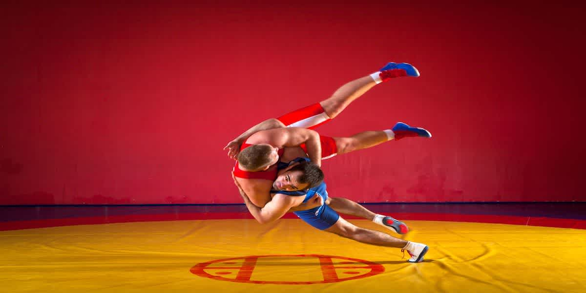 Youth Wrestling Takedown