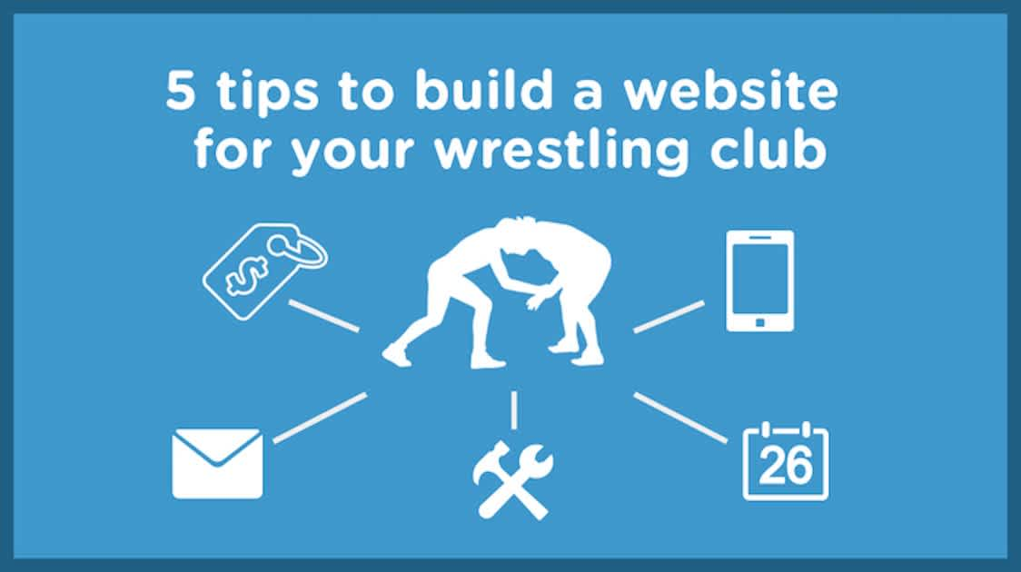 5 Tips to build a youth wrestling website