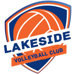a volleyball club logo