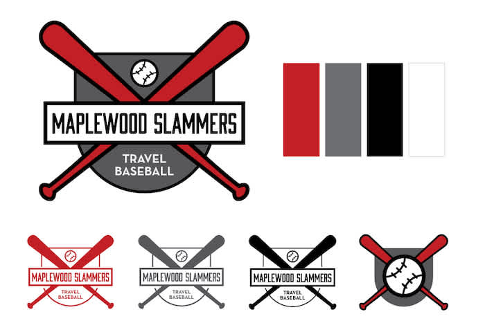 a logo for a youth travel baseball team
