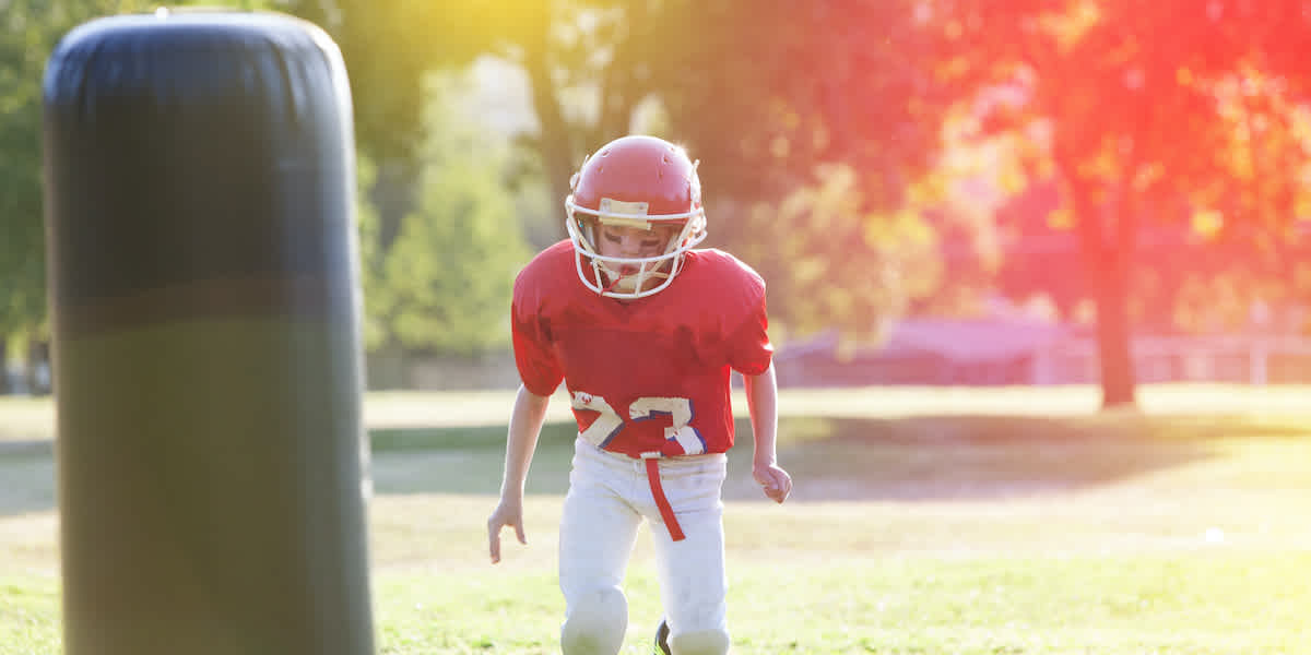 youth football defensive drill