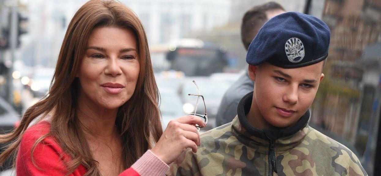 Edyta Górniak z synem - ea