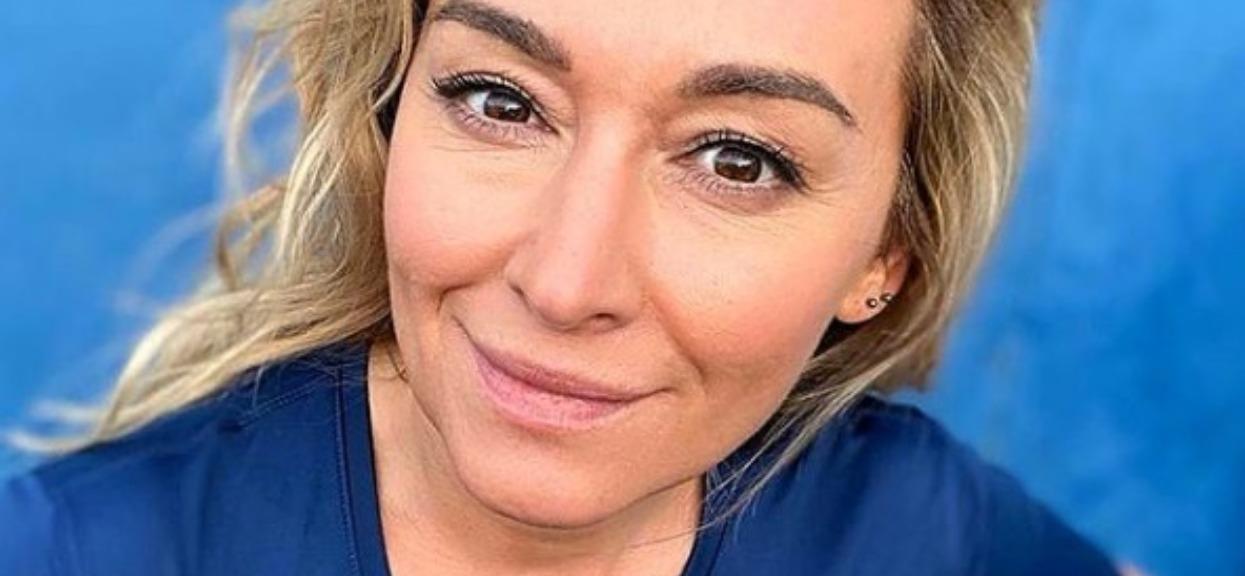 Martyna Wojciechowska w makijażu