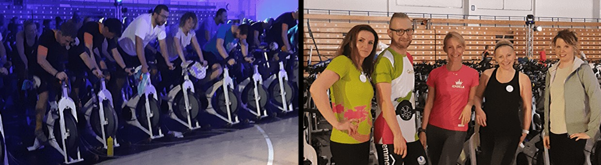 Indoor cycling Qarsona w Posnanii
