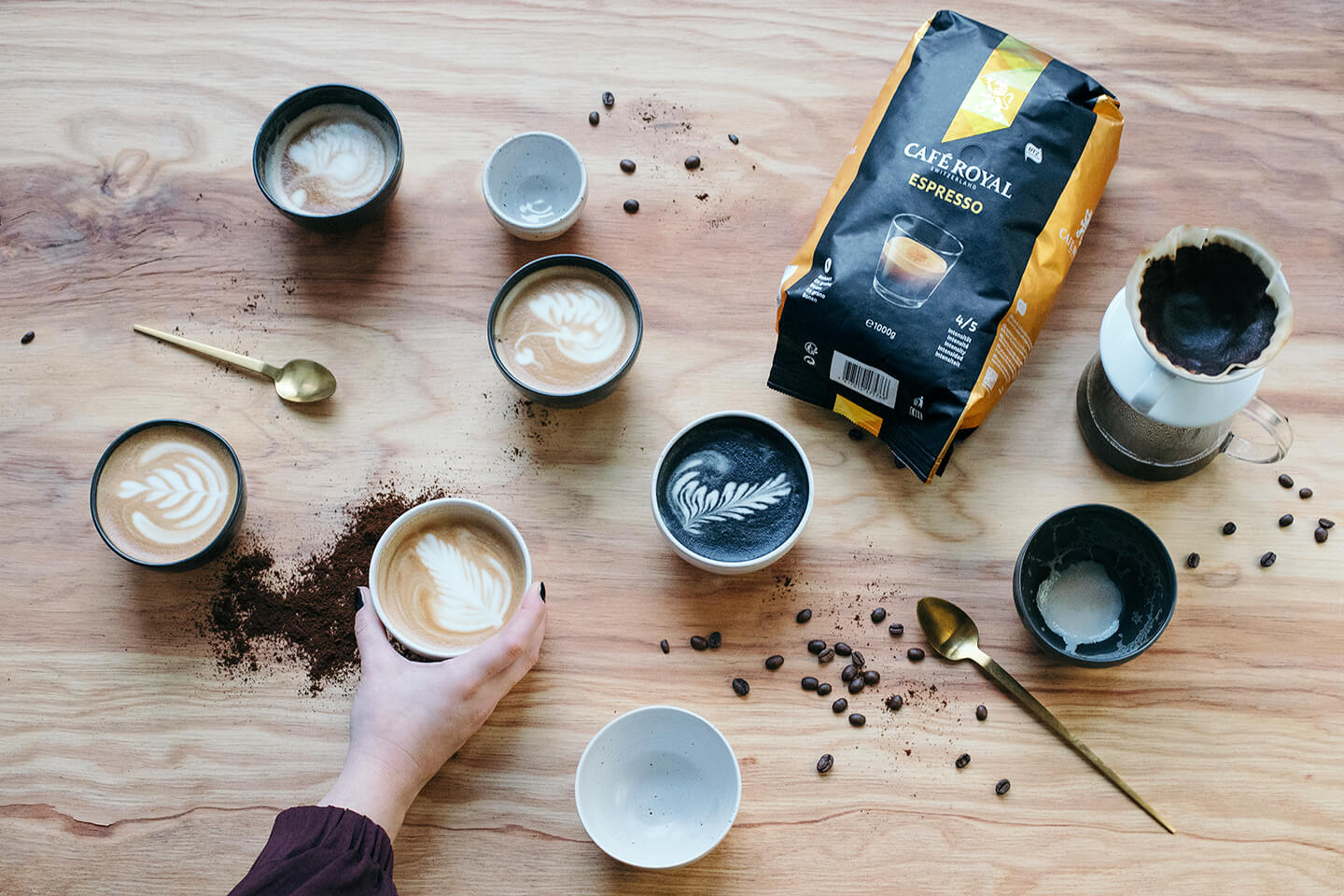 The 5 most daring coffee trends 2019 - Café Royal