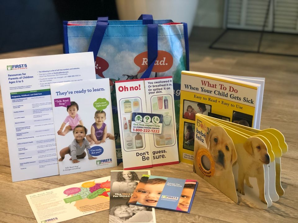 Have you heard of First 5 California's Kit for New Parents? It's filled with useful resources and information for you and your baby – and it's free! Find out what's in it and how to order it here.