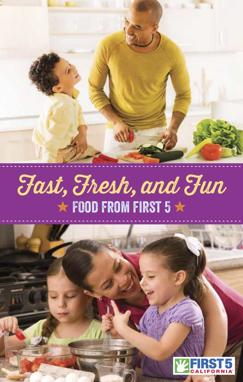 Fast, Fresh, and Fun Cookbook Cover in English