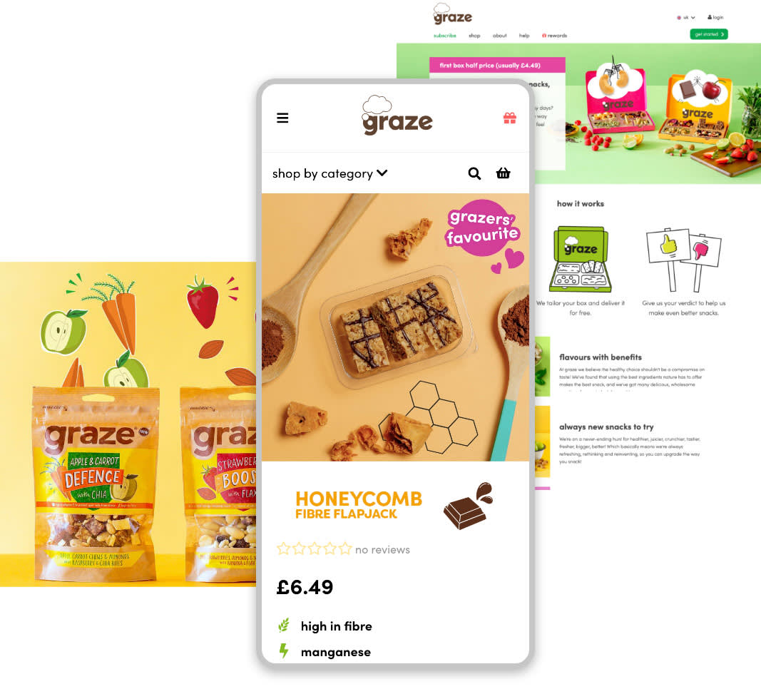 We participated in a large scale development programme for Graze