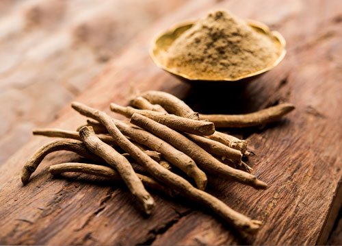 Ashwagandha powder and root