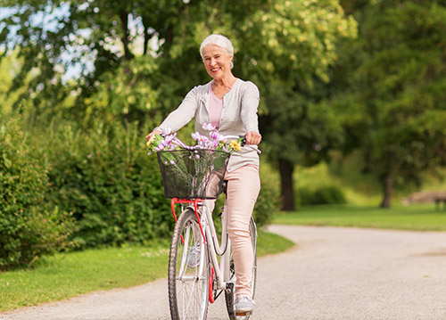 Exercise can help menopause symptoms